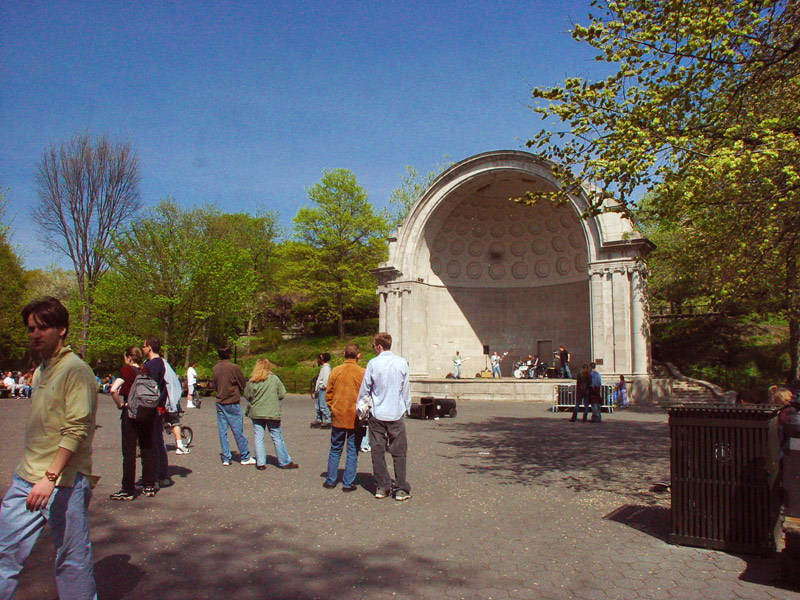 Naumburg Bandshell Events